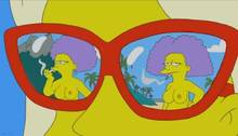 #pic840902: Mole – Patty Bouvier – Selma Bouvier – The Simpsons