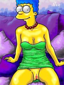 #pic836536: Marge Simpson – NEG – The Simpsons