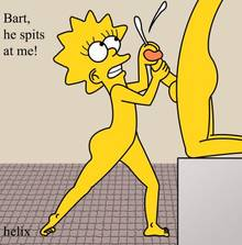 #pic916693: Bart Simpson – Lisa Simpson – The Simpsons – helix