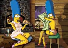 #pic914414: Homer Simpson – Marge Simpson – The Simpsons