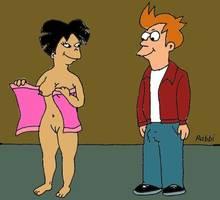 #pic905408: Amy Wong – Futurama – Rabbi – Seymour Skinner – The Simpsons – crossover
