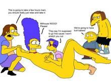 #pic903604: Dolph Starbeam – Marge Simpson – Milhouse Van Houten – Nelson Muntz – Ralph Wiggum – The Simpsons
