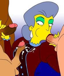 #pic902086: Madame Belle – The Simpsons – aeolus06