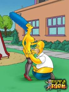 #pic896234: Homer Simpson – Marge Simpson – The Simpsons – futa-toon