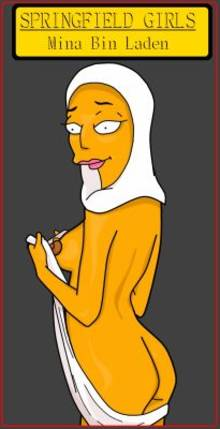 #pic896378: CyborgBLUE – Mina Bin Laden – The Simpsons