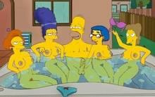#pic895584: Edna Krabappel – Helen Lovejoy – Homer Simpson – Luann Van Houten – Marge Simpson – The Simpsons