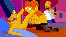 #pic890967: Claudia-R – Homer Simpson – Marge Simpson – Mindy Simmons – The Simpsons