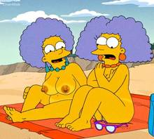 #pic1328636: ChainMale – Patty Bouvier – Selma Bouvier – The Simpsons