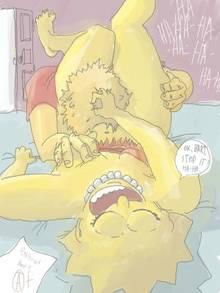 #pic886932: Bart Simpson – Lisa Simpson – The Simpsons – referat
