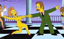 #pic1328627: ChainMale – Edna Krabappel – Ned Flanders – The Simpsons