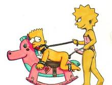 #pic875521: Bart Simpson – Lisa Simpson – The Simpsons – naota747