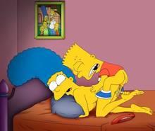 #pic875379: Bart Simpson – Marge Simpson – The Simpsons – cartoon avenger