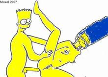 #pic862720: Bart Simpson – Marge Simpson – The Simpsons – maxel