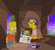 #pic832870: Bart Simpson – Milhouse Van Houten – The Simpsons