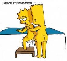 #pic832167: Bart Simpson – Lisa Simpson – The Simpsons