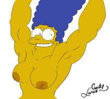 #pic1325424: Chesty Larue – Marge Simpson – The Simpsons