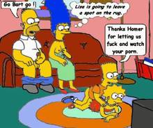 #pic832114: Bart Simpson – Homer Simpson – Lisa Simpson – Marge Simpson – The Simpsons – animated