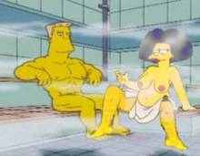 #pic826906: HomerJySimpson – Rainier Wolfcastle – Selma Bouvier – The Simpsons