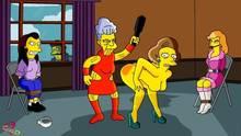 #pic825770: Agnes Skinner – Claudia-R – Edna Krabappel – Ruth Powers – Snake Jailbird – The Simpsons