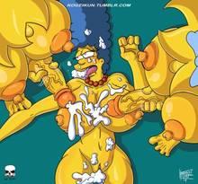 #pic1299981: Lisa Simpson – Maggie Simpson – Marge Simpson – The Fear – The Simpsons – kogeikun