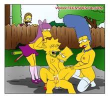 #pic822927: Bart Simpson – Jessica Lovejoy – Lisa Simpson – The Simpsons – jabbercocky