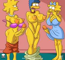 #pic1299978: Lisa Simpson – Maggie Simpson – Marge Simpson – The Fear – The Simpsons – kogeikun