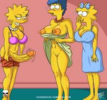 #pic1299977: Lisa Simpson – Maggie Simpson – Marge Simpson – The Fear – The Simpsons – kogeikun