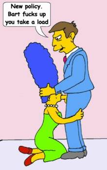 #pic391636: Marge Simpson – Seymour Skinner – The Simpsons – animated