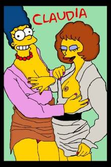 #pic383103: Claudia-R – Marge Simpson – Maude Flanders – The Simpsons