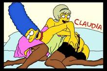 #pic383102: Claudia-R – Lurleen Lumpkin – Marge Simpson – The Simpsons
