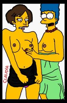 #pic383101: Claudia-R – Judge Constance Harm – Marge Simpson – The Simpsons