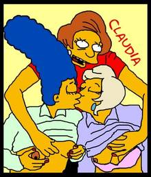 #pic383100: Claudia-R – Edna Krabappel – Lindsey Naegle – Marge Simpson – The Simpsons