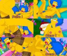 #pic420347: Homer Simpson – Patty Bouvier – Selma Bouvier – The Simpsons