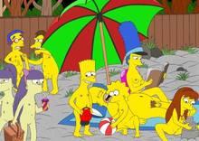 #pic409771: Allison Taylor – Bart Simpson – Homer Simpson – Lisa Simpson – Marge Simpson – Milhouse Van Houten – Nelson Muntz – Sherri – Terri – The Simpsons – mike4illyana