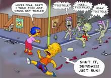 #pic408638: Allison Taylor – Bart Simpson – Janey Powell – Lisa Simpson – Milhouse Van Houten – Sherri – Terri – The Simpsons – great moaning