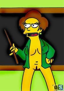 #pic408636: Edna Krabappel – The Simpsons
