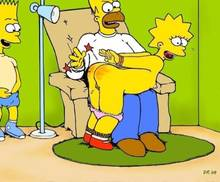 #pic408564: Bart Simpson – Homer Simpson – Lisa Simpson – The Simpsons