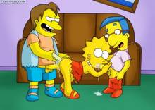 #pic408280: Lisa Simpson – Milhouse Van Houten – Nelson Muntz – PalComix – The Simpsons – bbmbbf