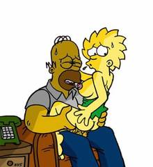 #pic405946: Homer Simpson – Lisa Simpson – The Simpsons – animated – helix – nev