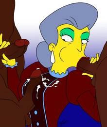 #pic1288363: Madame Belle – The Simpsons – aeolus06