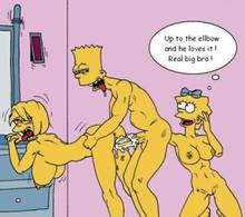 #pic714439: Bart Simpson – Lisa Simpson – Maggie Simpson – The Fear – The Simpsons