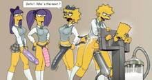 #pic713888: Bart Simpson – Lisa Simpson – Maggie Simpson – Sherri – Terri – The Simpsons – kamitora
