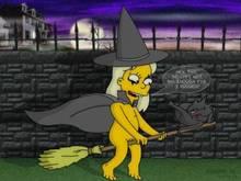 #pic703527: Dimesimp – Greta Wolfcastle – Snowball – The Simpsons