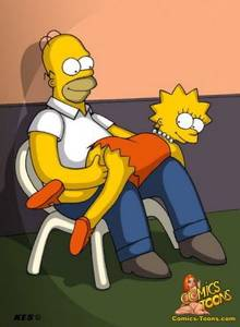 #pic250913: Homer Simpson – Kes – Lisa Simpson – The Simpsons