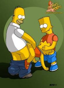 #pic251030: Bart Simpson – Homer Simpson – Kes – Lisa Simpson – The Simpsons