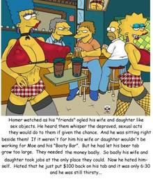 #pic244932: Barney Gumble – Homer Simpson – Lisa Simpson – Marge Simpson – Moe Szyslak – The Fear – The Simpsons