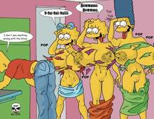 #pic244919: Bart Simpson – Lisa Simpson – Maggie Simpson – Marge Simpson – The Fear – The Simpsons