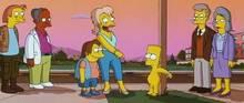 #pic615336: Bart Simpson – Herman – Mrs. Muntz – Nelson Muntz – The Simpsons