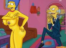 #pic614614: Marge Simpson – Montgomery Burns – The Simpsons – comics-toons