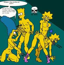 #pic614329: Bart Simpson – Lisa Simpson – Maggie Simpson – Marge Simpson – The Fear – The Simpsons